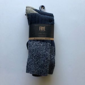 NWT Frye Supers Boot Sock 2 pack